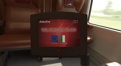Italolive, portaal, Italiaanse vervoerder NTV