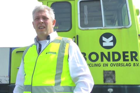 Directeur Dirk Bonder, Bonder Recycling en Overslag