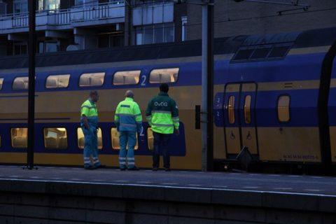 Doden, aanrijding, trein, Rotterdam