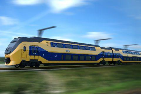 Intercity-trein, NS, VIRM, foto: Puur ruimte