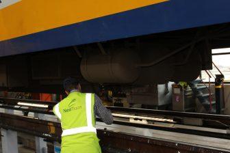 NedTrain, onderhoud, werkplaats, Leidschendam, treinen, NS