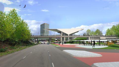Station Goffert, Nijmegen, ontwerp