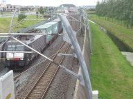 Goederentrein, spoorlijn, Betuweroute, foto: @Jan van der Vaart