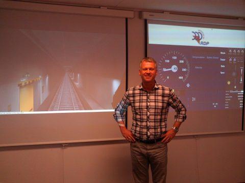 Johan Willemen, directeur, RDP Services, ERTMS-simulator