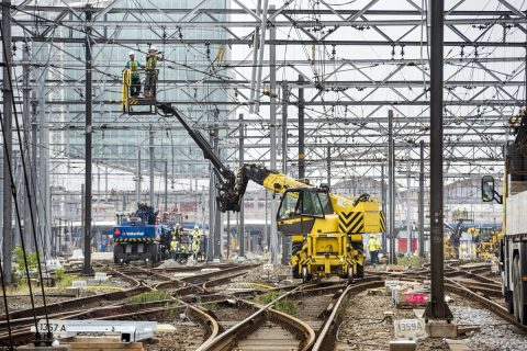 Spoorwerkzaamheden, Utrecht Centraal