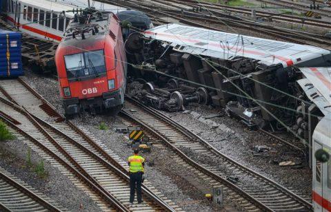 Treinongeluk, Mannheim, goederentrein, passagierstrein