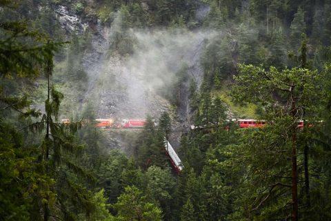 Treinongeluk, Zwitserland