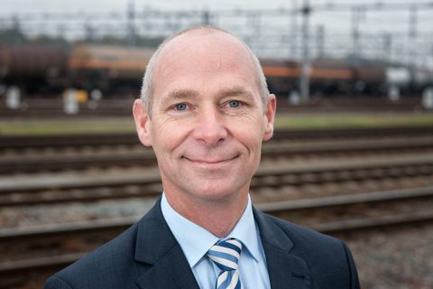 Sjoerd Sjoerdsma, directeur, Keyrail