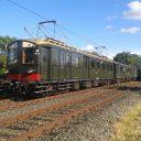 Blokkendoos, historische trein,