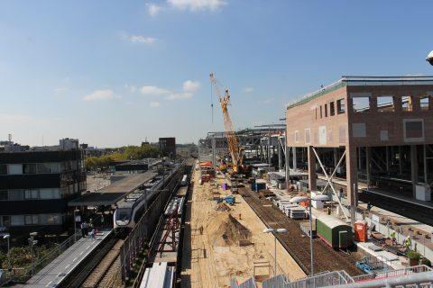 Centraal Station Breda, werkzaamheden