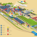 SpoorParade Amersfoort, plattegrond