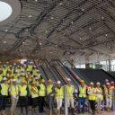 Spoorzone Delft, medewerkers, stationshal