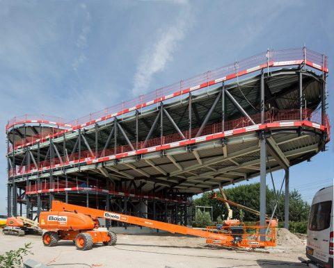 Verkeersleidingspost, Utrecht, bouw, foto: Frank Hankwijk