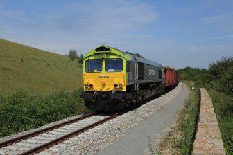 Captrain, spoorlijn Maastricht-Lanaken