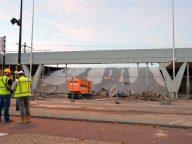 Ongeluk, werkzaamheden, station, Tilburg