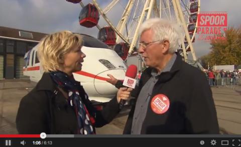 Spoorburgemeester Jan Daalmeijer, SpoorParade Amersfoort