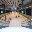 Spoortunnel Delft, perron, Delft Centraal, station