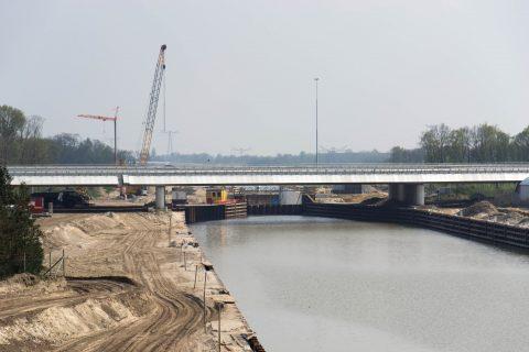 Spoorbrug, Máximakanaal, Rosmalen