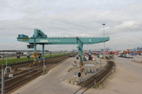Rail terminal, RSC, Rotterdam