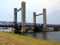 Goederentrein, Calandbrug, Europoort Rotterdam