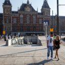 Metro-ingang, Centraal Station, Amsterdam