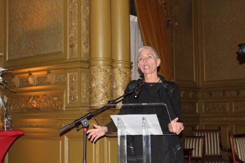 Wilma Mansveld, staatssecretaris van Infrastructuur en Milieu