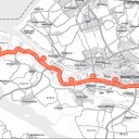 Spoorlijn vanuit Maasvlakte