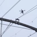 Drone, inspectie, bovenleiding