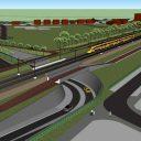 Spoorzone Ede, stationsgebied