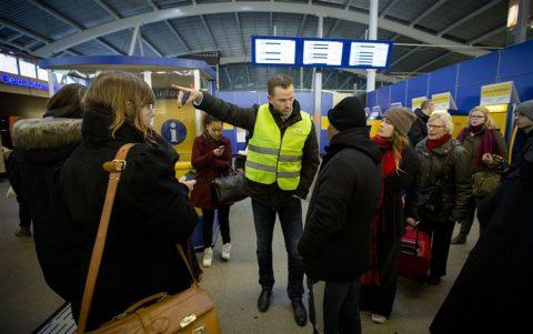 Gestrande reizigers, Utrecht Centraal