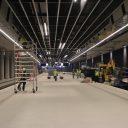 Spoortunnel, station Delft, werkzaamheden