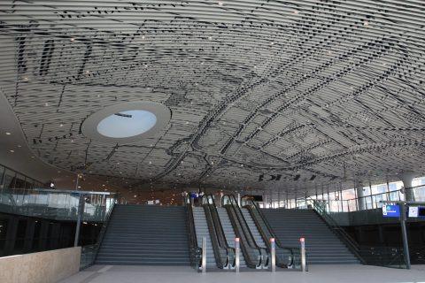 Station Delft, stationshal