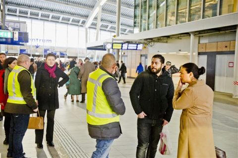 Utrecht Centraal, station, gestrande reizigers