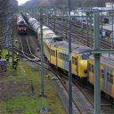 Botsing, goederentrein, passagierstrein, Tilburg