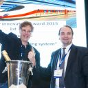 GeoNext, winnaar Innovation Award 2015, RailTech, Rolf Dollevoet, TU Delft