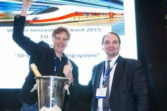 GeoNext, winnaar Innovation Award 2015, RailTech, Rolf Dollevoet, TU Delft
