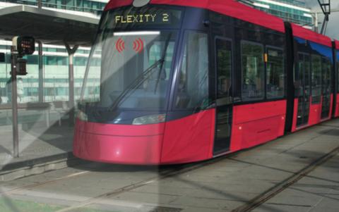 Bombardier, bestuurder assistentie-systeem, tram