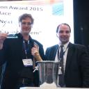 GeoNext, winnaar, Innovation Award, RailTech 2015