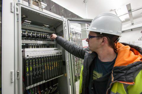 PLC Interlocking, spooremplacement Beverwijk
