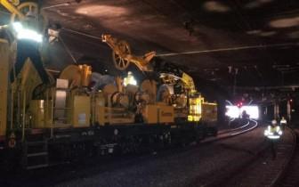 Werkzaamheden, Strukton Rail, Noord-Zuidverbinding, Brussel