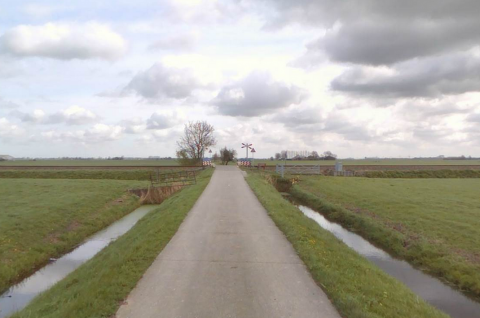 Spoorwegovergang Winsum