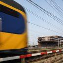 NS, trein, verkeersleidingspost, Utrecht
