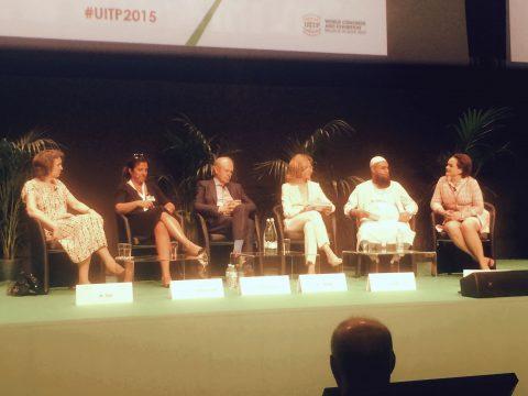 Alexandra van Uffelen, directeur, GVB, UITP-congres, Milaan