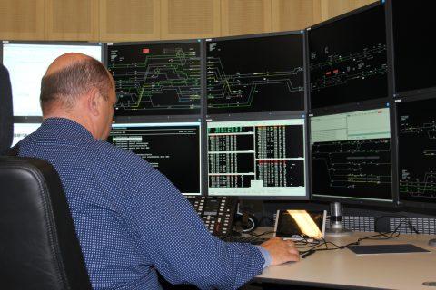 Treinverkeersleider, verkeersleidingspost, Utrecht
