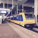 Intercity Direct, Traxx-locomotief, NS, station Breda