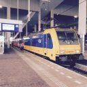 Intercity Direct, Traxx-locomotief, NS, station Breda