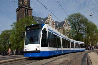 Tram, GVB, Amsterdam