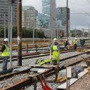 Station Zuid, Noord/Zuidlijn, werkzaamheden, spoor