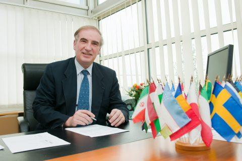 Jean Pierre Loubinoux, directeur, UIC, foto: Philippe Fraysseix