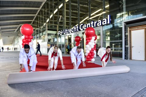 Utrecht, Centraal Station, opening, foto: ProRail